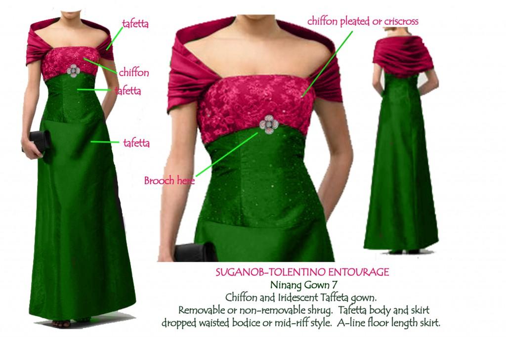 Wedding Dresses For Ninang : Ninang dress gown mel